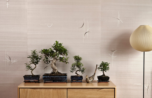 Interior photography, Fromental, wallpaper