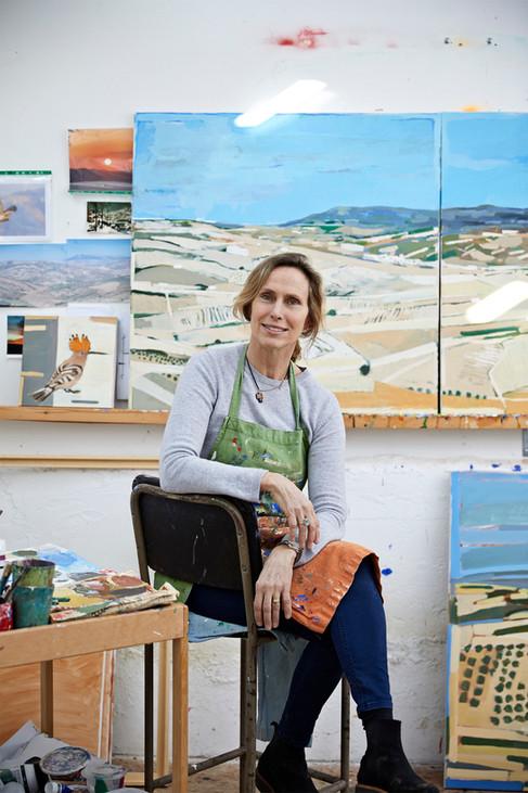 Artist Katharine Newman