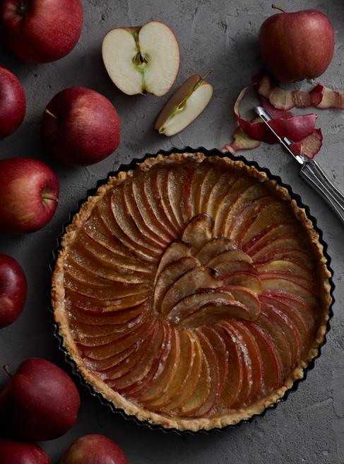 Apple pie, food photographer Chrsitina Bull