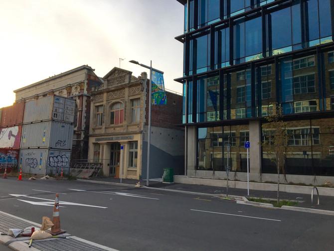 Left Christchurch