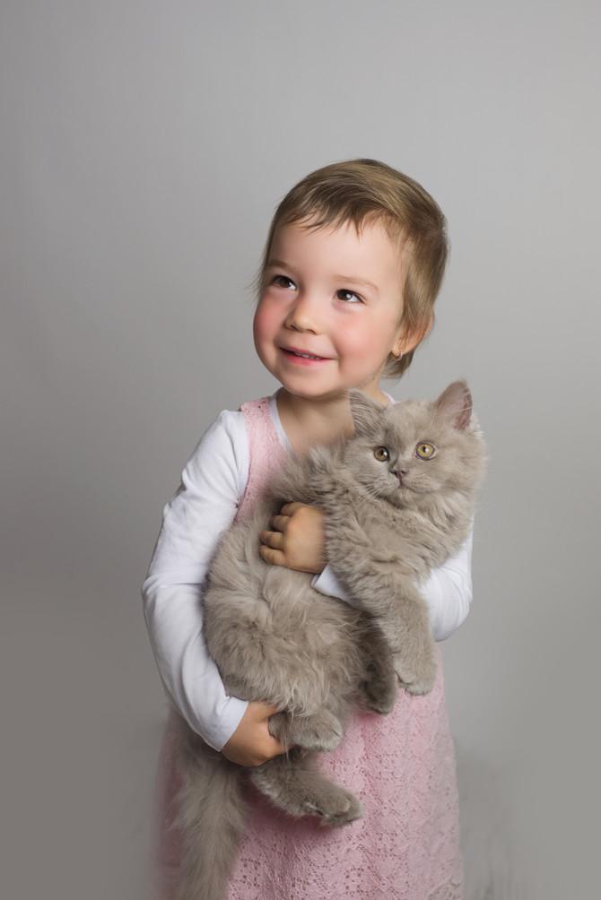 Jarní focení s koťátky