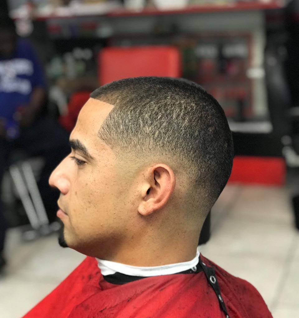 clipper cut (men)/no beard