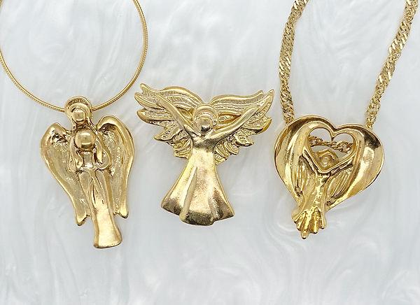 Three Gold Vermeil angels copy.jpg