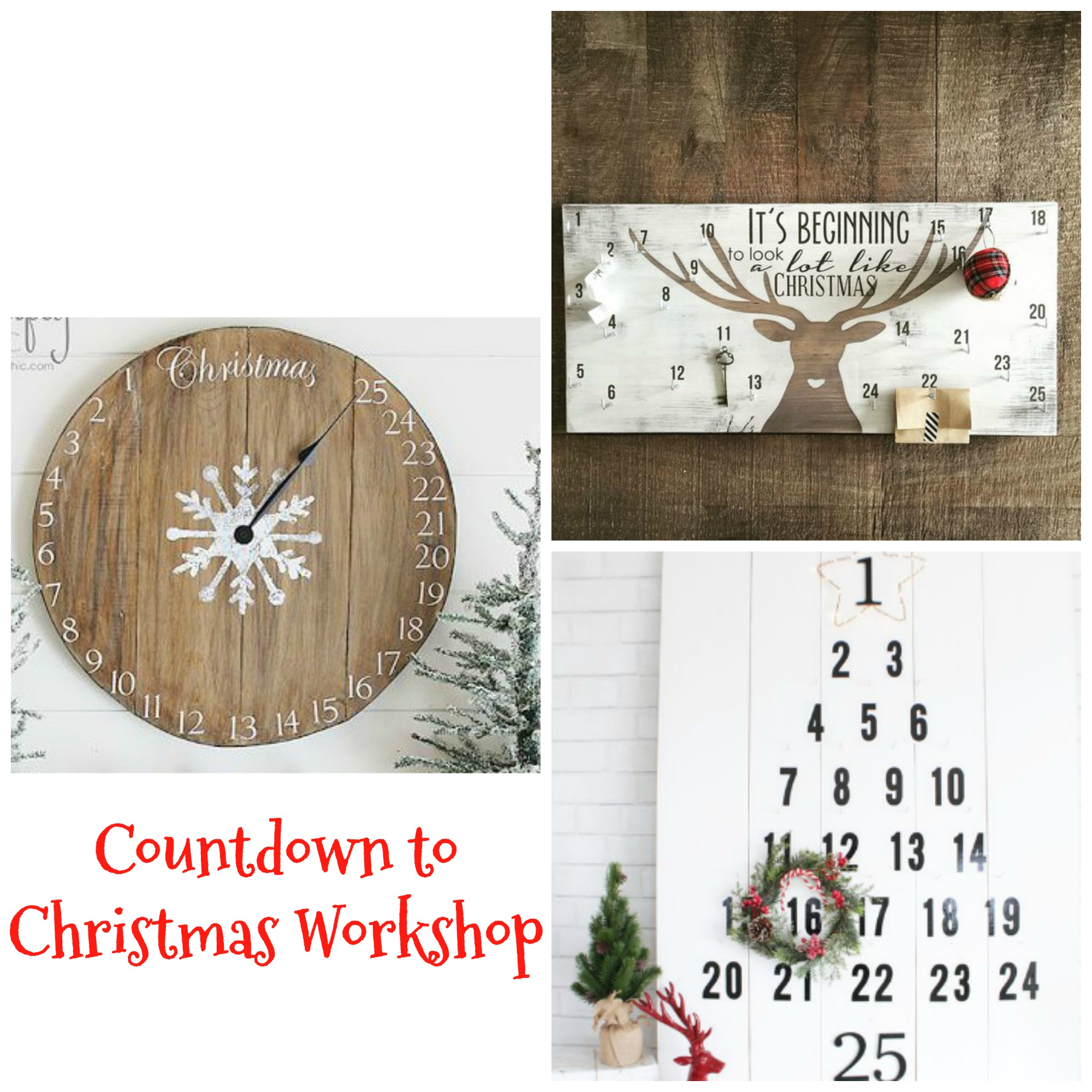 Christmas countdown calendar 1 interiormotives for Make your own christmas countdown calendar