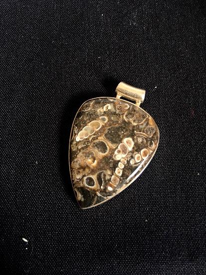 Sterling  Silver Turtella Pendant