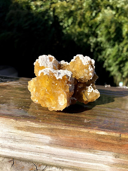 Yellow Mexican Fluorite