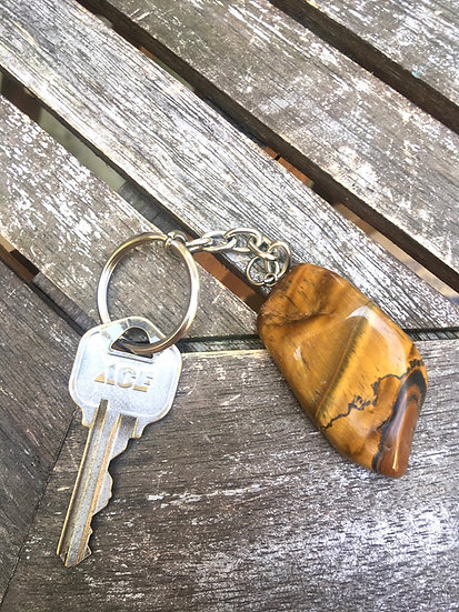 Tigers Eye Keychain