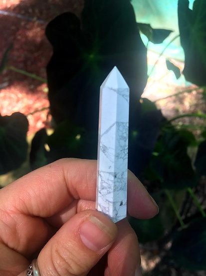 Howlite Obelisk