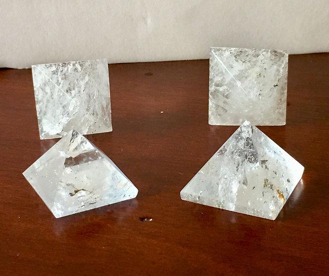 Small Quartz Pyramids