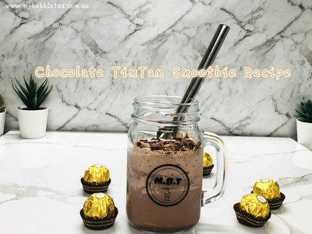 Chocolate Timtam Milkshake Recipe