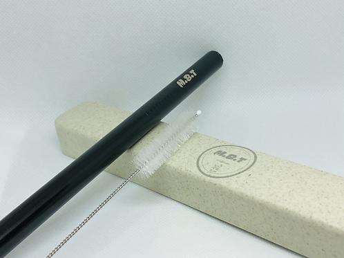 Bubble Tea Reusable Metal Straws Set