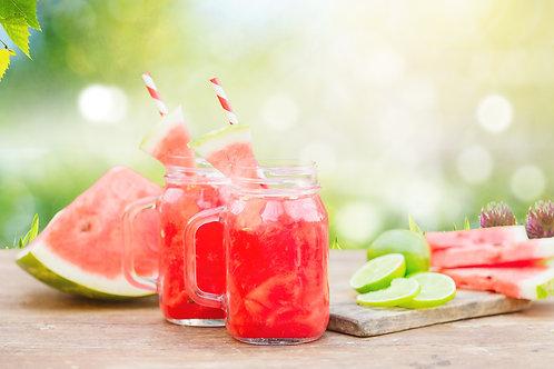 Watermelon Milk Tea