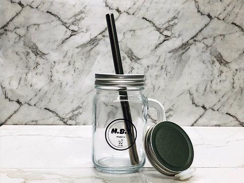 MBT Reusable Bubble Tea Glass Cup