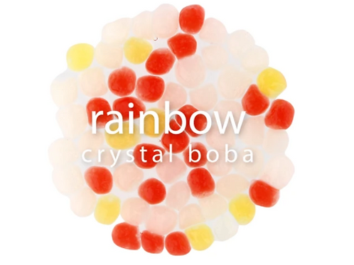 Rainbow Crystal Jelly Ball