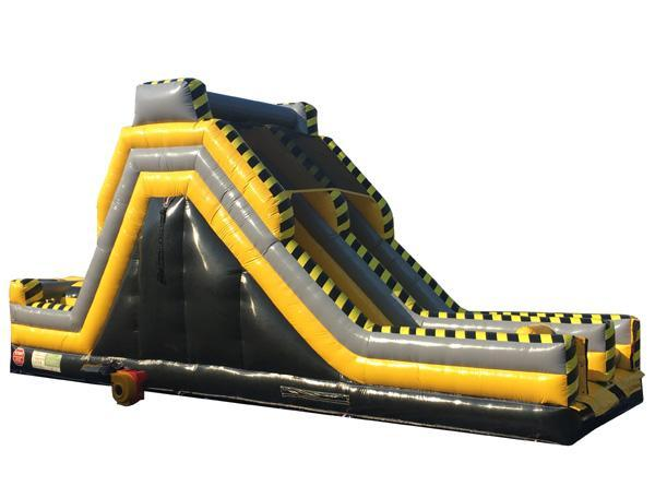 Toxic Obstacle Slide