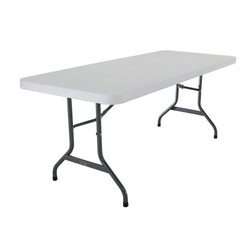6FT White Table