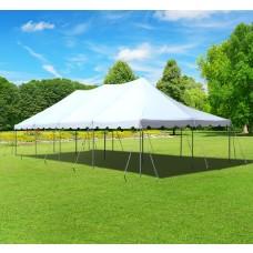20 x 40 White Pole Tent
