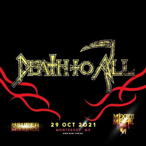 Death To All 💀 al cartel de Mexico Metal Fest 🔥