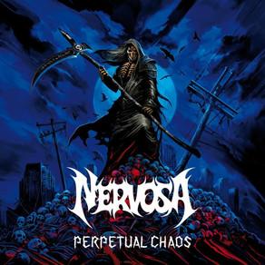 NERVOSA, anuncia el lanzamiento de su cuarto álbum, PERPETUAL CHAOS, presentando nueva formación