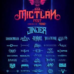 AZTECH MICTLAN FEST 7 y 8 de noviembre con JINJER como headliner