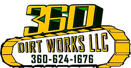 360 Dirt Works | Excavation & Gravel Delivery | Clark County | Logo