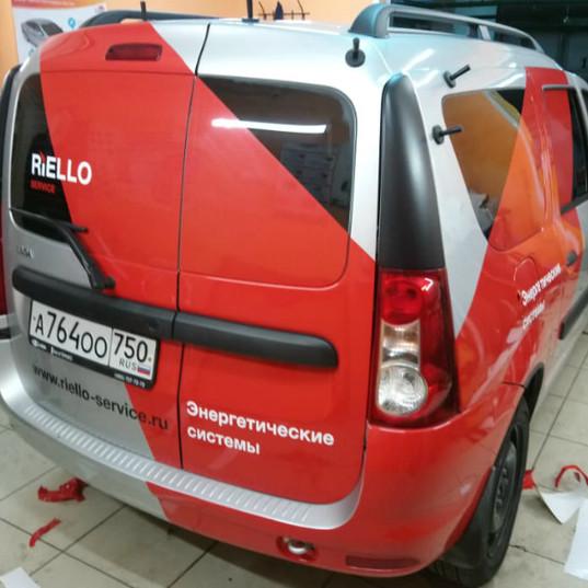 Carner брендирование легковых автомобилей