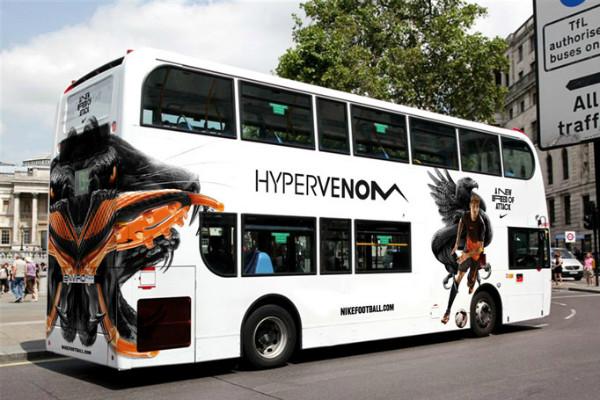 Carner брендирование автобуса цена