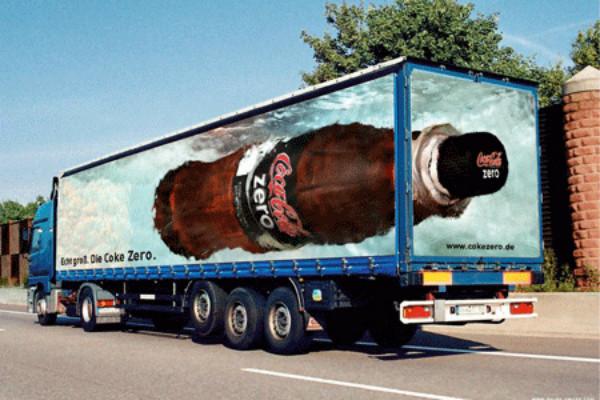 Carner брендирование грузовых авто дизайн