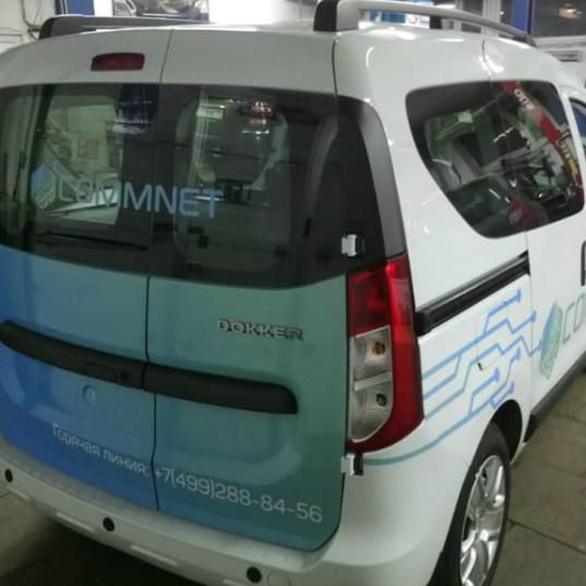 Carner брендирование легковой машины в москве