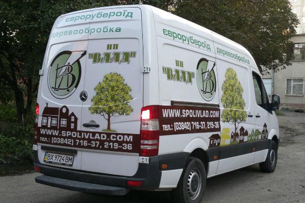 Carner брендирование газели фото