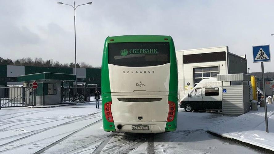 carner брендирование автобуса дизайн