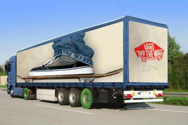 Carner брендирование грузовых авто фото