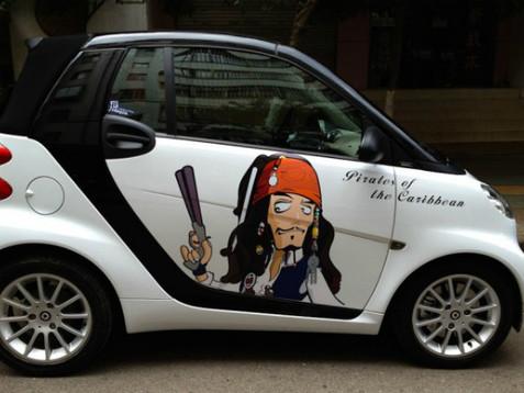 Оклейка автомобиля виниловой пленкой