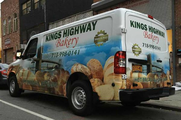 carner брендирование фургона дизайн