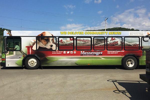 Carner брендирование автобуса