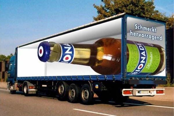 carner брендирование грузового транспорта стоимость