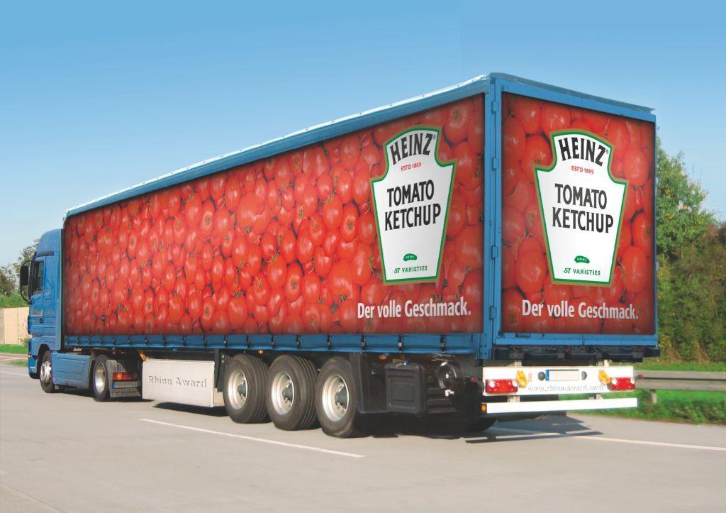 Carner брендирование грузовых машин фото