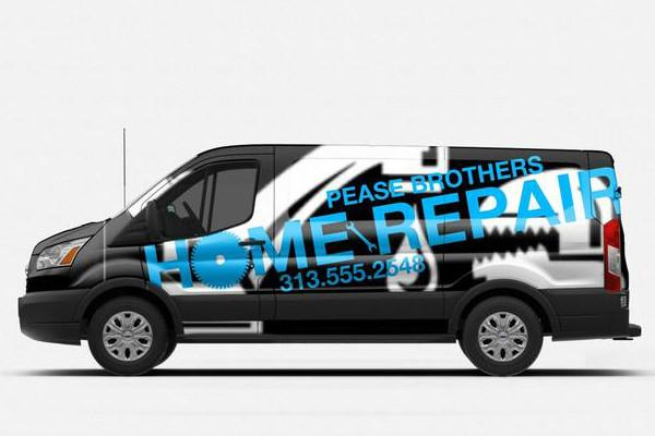 carner брендирование микроавтобусов