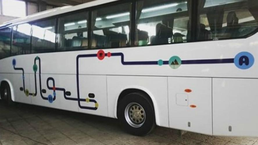 carner брендирование автобуса фото