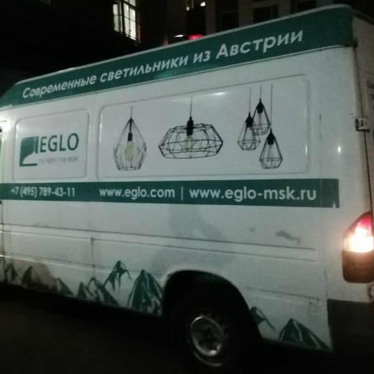 carner брендирование фургонов москва