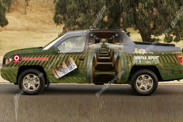 carner брендирование легковых авто