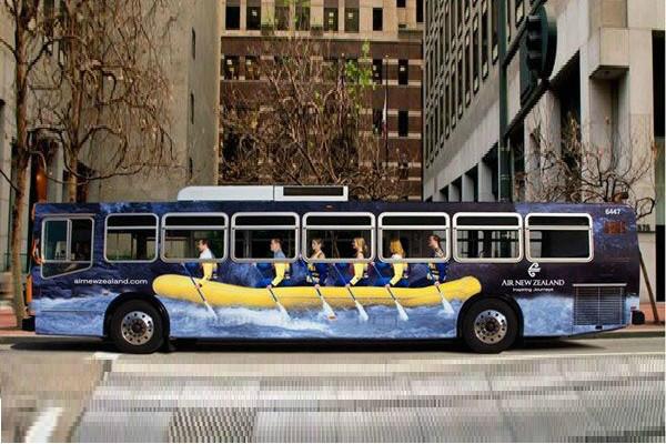 Carner оклейка пленкой автобуса