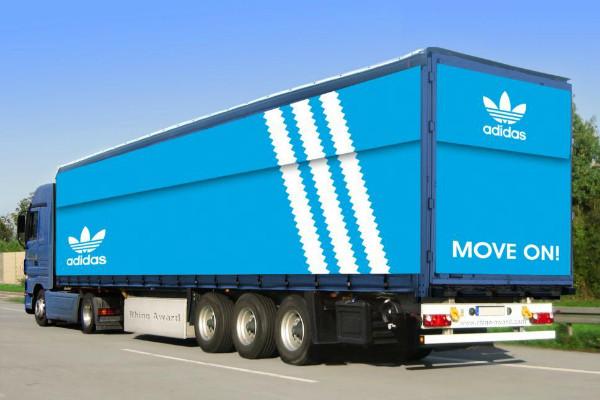 Carner брендирование грузовых машин москва