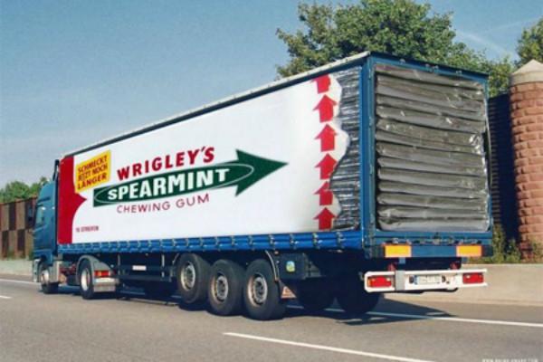 Carner брендирование грузовых машин цена