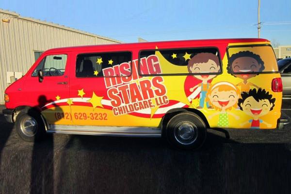 carner брендирование микроавтобусов в москве