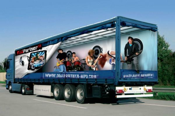 Carner брендирование грузовых автомобилей цена