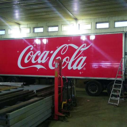 Carner брендирование грузового транспорта цена