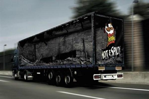 carner брендирование грузового транспорта фото