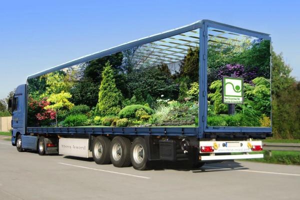 Carner брендирование грузовых автомобилей фото