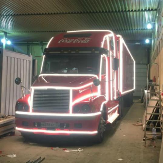 Carner брендирование грузового транспорта в москве